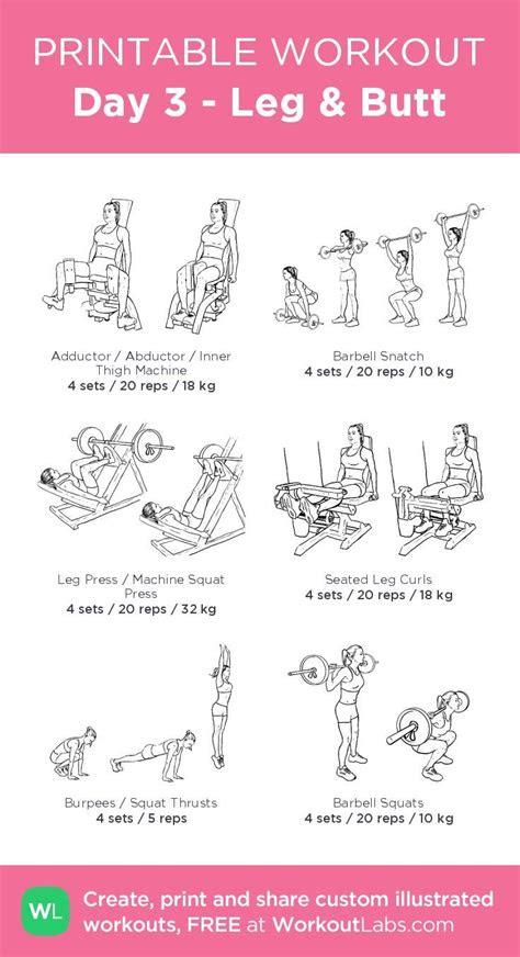pin  sienna atsye  workout gym workout  beginners