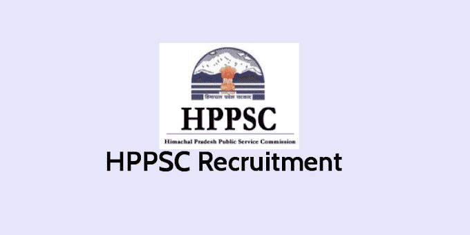 HPPSC Recuritment 2019