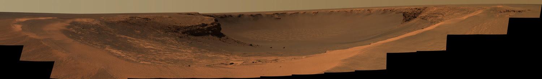 Cráter Victoria de Marte