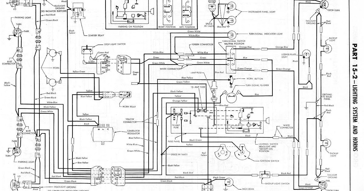 1965 Ford Falcon Ranchero Wiring Diagram