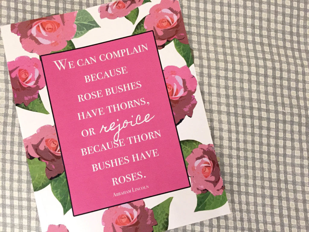 Complain Or Rejoice Free Printable Clumsy Crafter