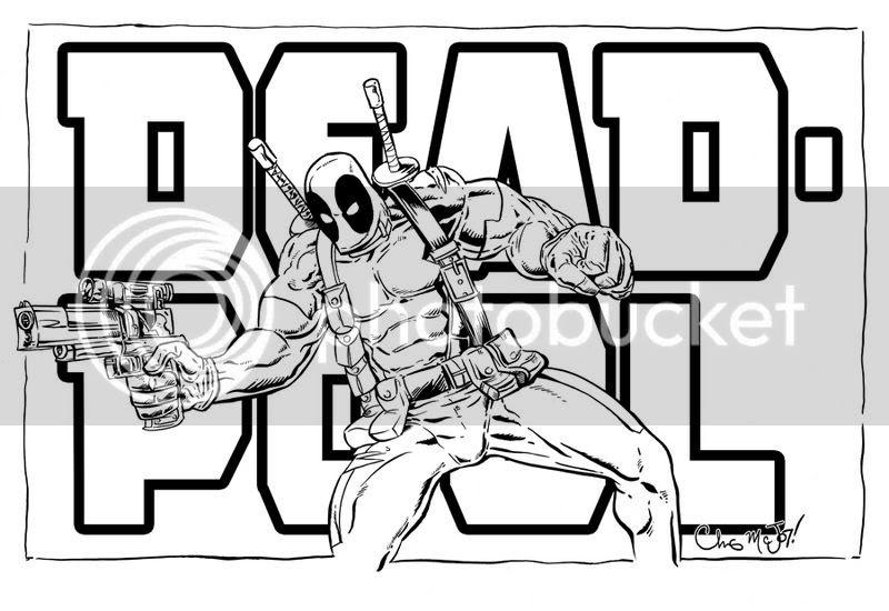Deadpool Para Colorear Pintar E Imprimir Deadpool Coloring Pages