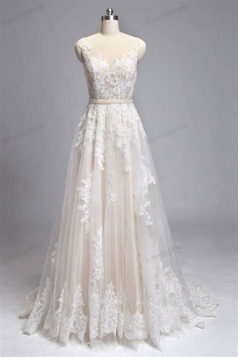 25  best ideas about Champagne wedding dresses on