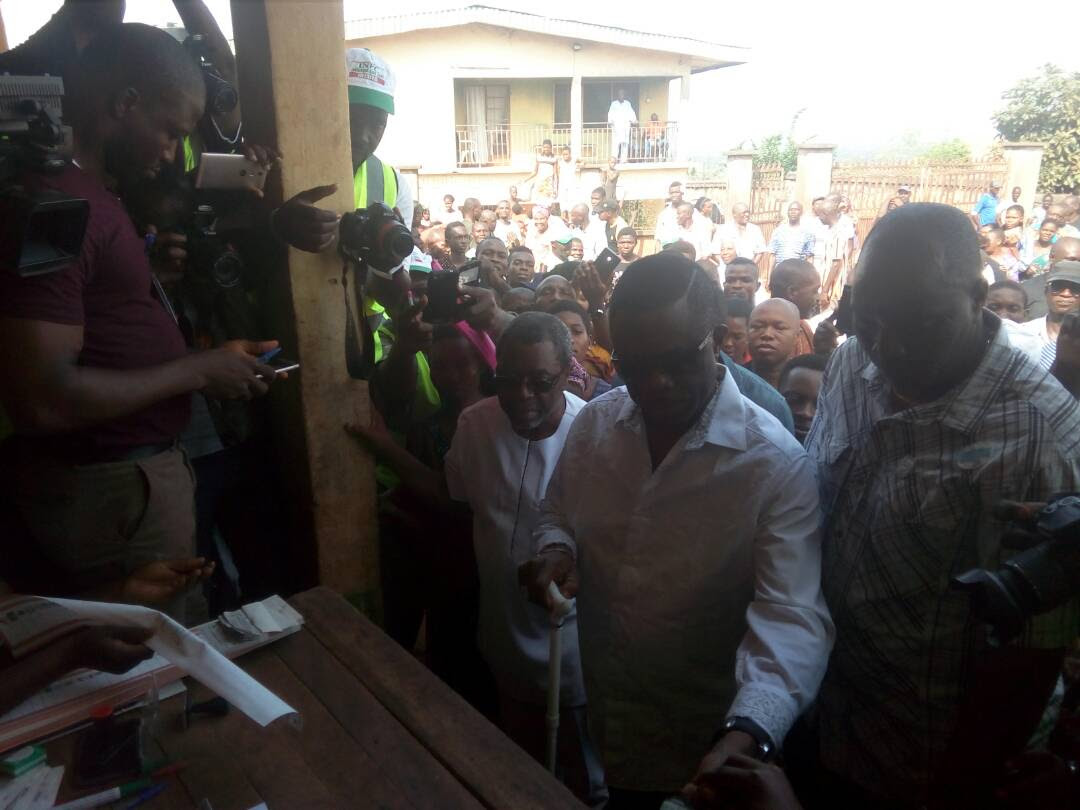 Anambra Election: Polling unit results show Obiano has won – APGA chairman, Oye