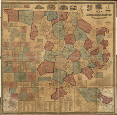 Map of Middlesex County, Massachusetts