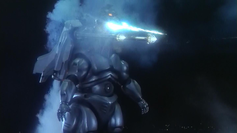 Together at last, Super Mecha Godzilla