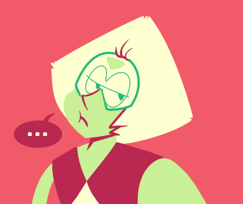 peridowt said: Peridot in rhubarb, also are people allowed to send multiple requests? I wuv you I hope your day is going well 💞 Answer: