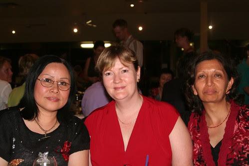 Brenda, Della and Jayshree