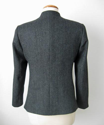 Burda jacket back