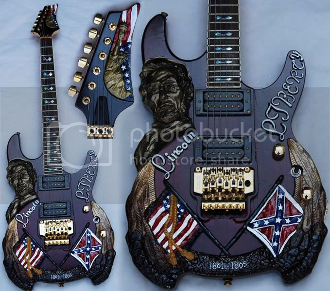 Abe Lincoln guitar