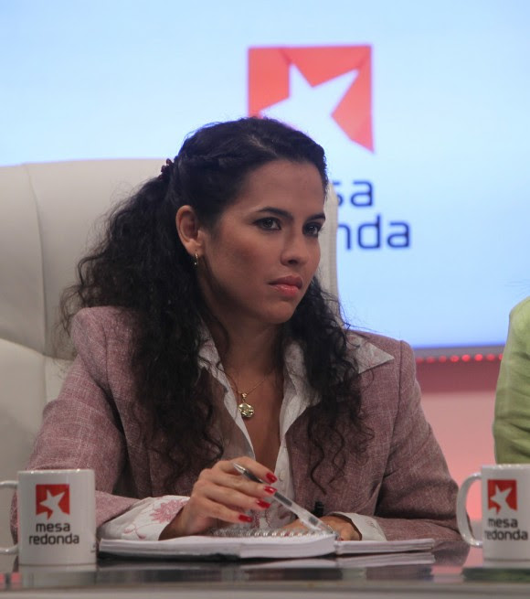 Nyliam Vázquez, periodista de Juventud Rebelde. Foto: Ismael Francisco/ Cubadebate