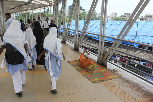 The Bandra Skywalk Was Actually Made For The Drug Addicts Homeless and The Drunks ,,, by firoze shakir photographerno1