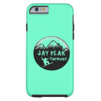 Jay Peak Vermont artistic skier Tough iPhone 6 Case