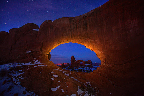 Arches NP, Turret Arch por kevin mcneal