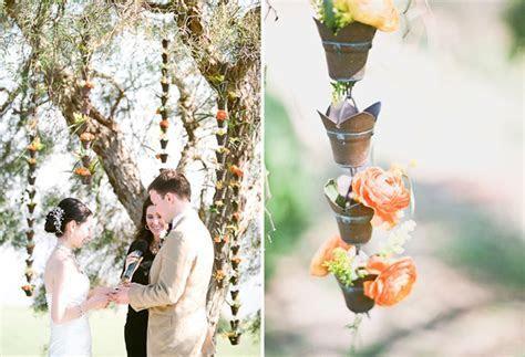 Outdoor California Wedding with Creative Florals: Alyssa