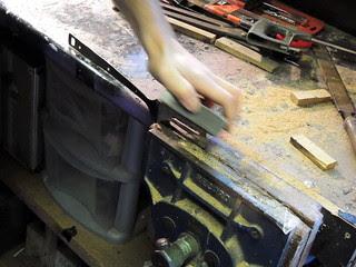 Final smoothing slimline spatula blade