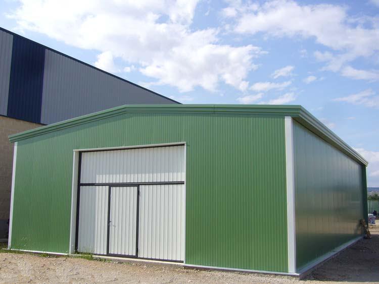 Casas de madera prefabricadas naves prefabricadas for Piscinas prefabricadas desmontables