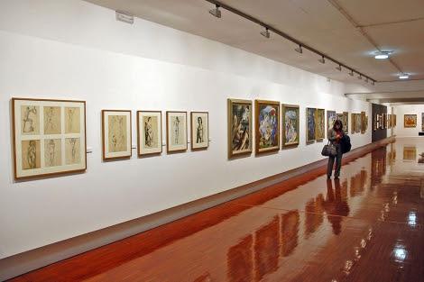 Una de las salas del Museo Zabaleta que se dedicarán al legado de Miguel Hernández. | Manuel Cuevas