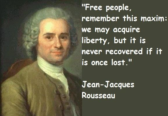 Quotes About Jacques Rousseau 17 Quotes