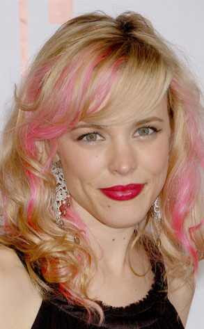 Hairstyles With Pink Highlights. hairstyles with pink