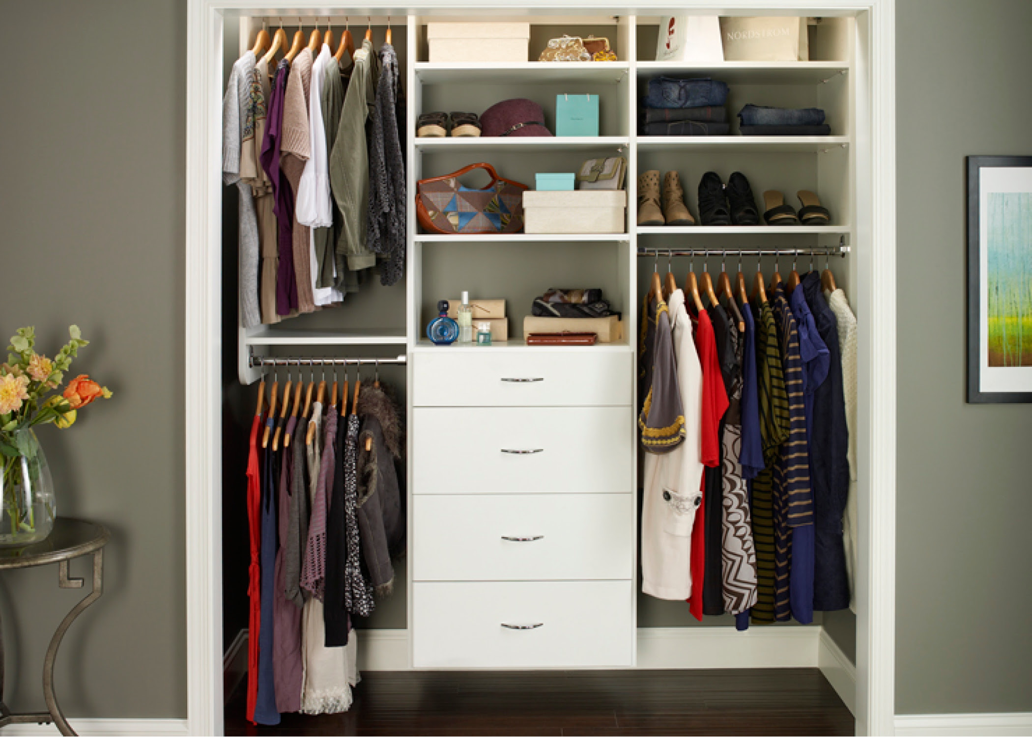 Custom Closet Designs And Storage Solutions By Desert Sky Doors And