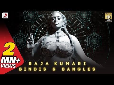Bindis And Bangles Lyrics in Spanish font Raja Kumari