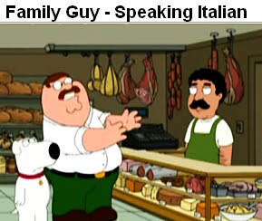 Family Guy - Speaking Italian