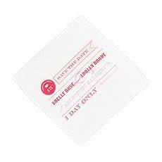 Tea Rose Personalised Handkerchief   Confetti.co.uk