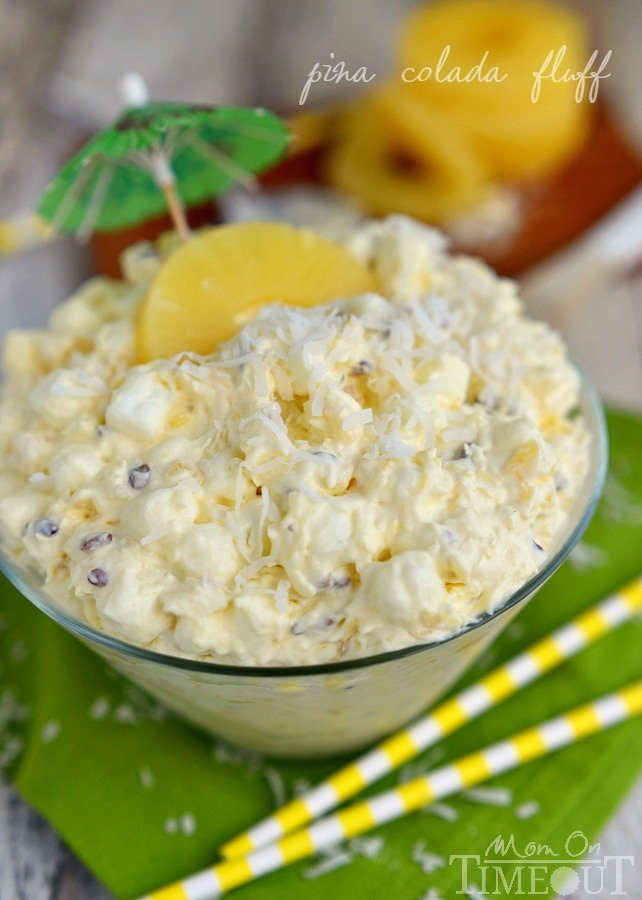 Fluff Salads Collection - Pina Colada Fluff Image