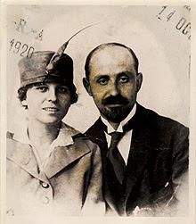 Zenobia Campubrí y Juan Ramón Jiménez.