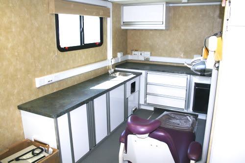 Mobile Dental Clinic Office