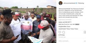 Ambode To Transform Maracana Football Ground In Ajegunle Into A Sports Complex
