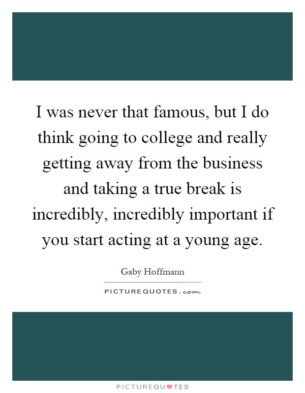 Gaby Hoffmann Quotes Sayings 19 Quotations