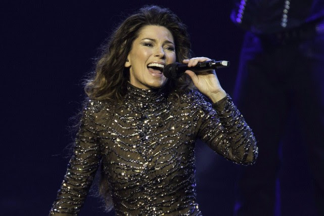 Shania Twain... (PHOTO ARCHIVES LA PRESSE CANADIENNE)