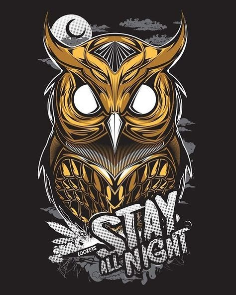 Vektor Logo Burung Hantu Keren Logo Keren