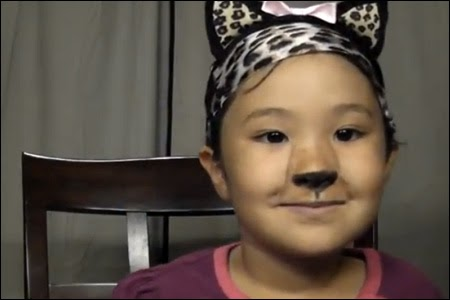 fiveyearold madison's halloween makeup tutorials