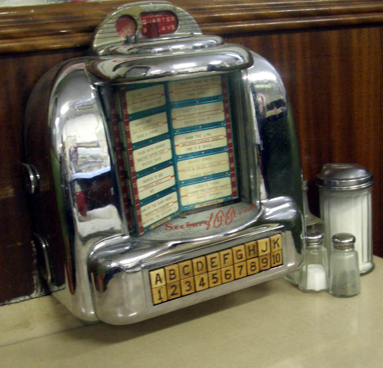 Canada - diner - jukebox 02 by barefootliam-stock on ...