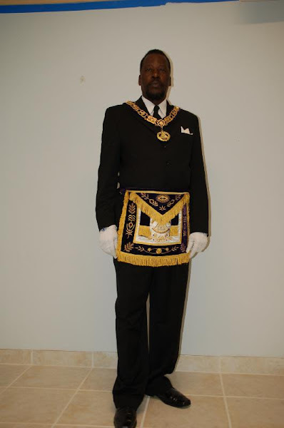 Deputy Grand Master Michael Anderson
