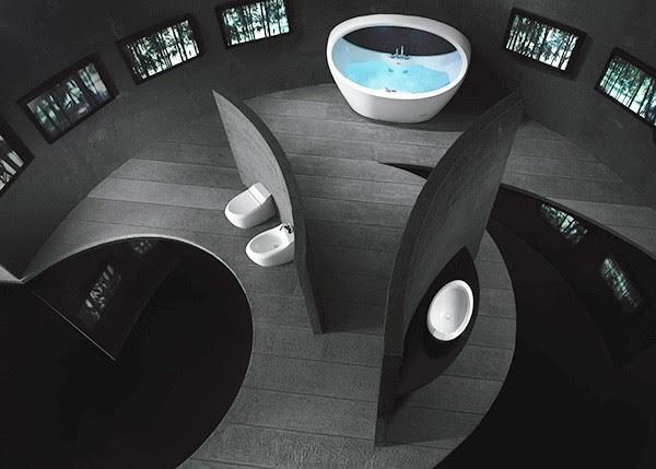 Bathroom Design Inspiration from Jacuzzi - Morphosis bath | Modern ...