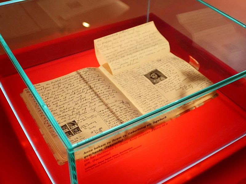 File:The Diary of a Young Girl at the Anne Frank Zentrum.jpg