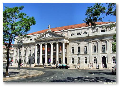 Teatro Nacional D. Maria II by VRfoto