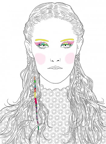 My Make Up Coloriages Marie Perron