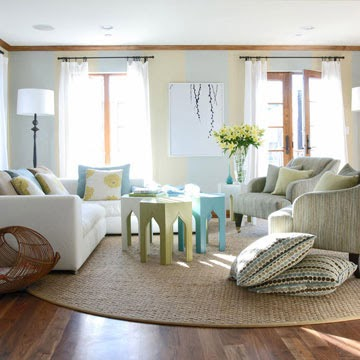 Vered Rosen Design Living Room Seating Arrangements