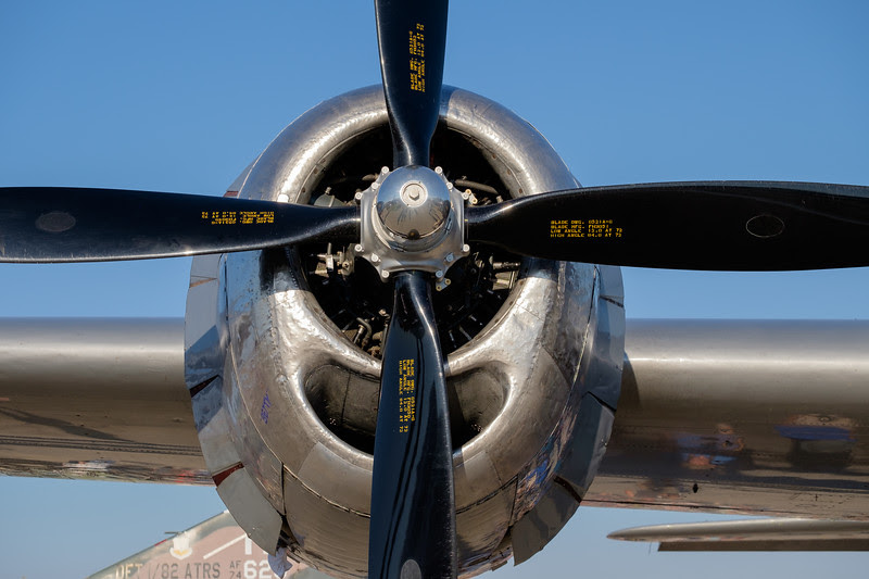 B-29 engine detail