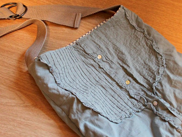 Ruby Star Button-Down Shirt Bag