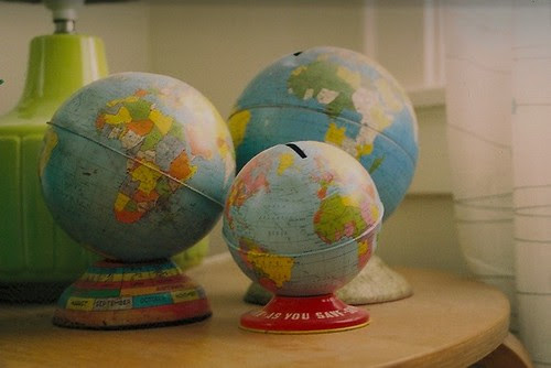there are a whole lot of globes in there.