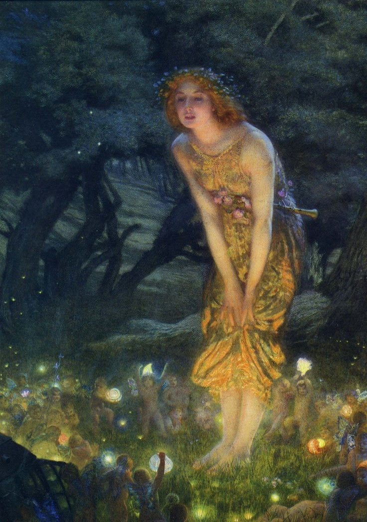 'Midsummers Eve' de Edward Robert Hughes