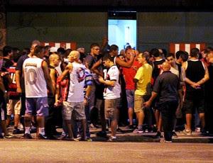 Flamengo x Franca - Torcedores (Foto: Sandro Lozano)
