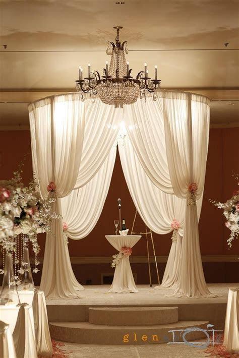 Round Chuppah   Backdrop, Chuppah, Mandap, Wedding Stage