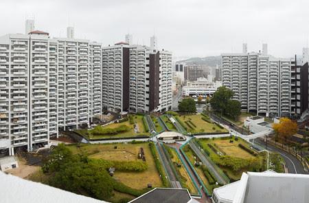 基町高層アパート屋上から4